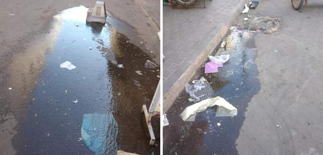 برشيد…كسر بقناة للشرب بحي المسيرة منذ شهر ولا ساكن يتحرك